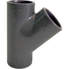 Trójnik 45 PVC-U d20