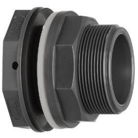 Przyłącze zbiornika 050 PVC-U/EPDM d20