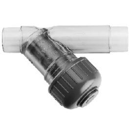 Filtr przezroczysty PVC-U/EPDM d25