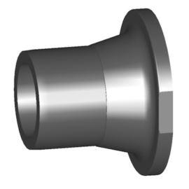 Końcówka zaworu 546 PVC-U króciec d63