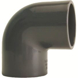 Kolano 90 PVC-U d12